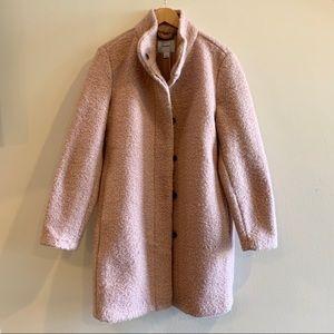 NWOT - Old Navy Long Coat in Light Pink, Large